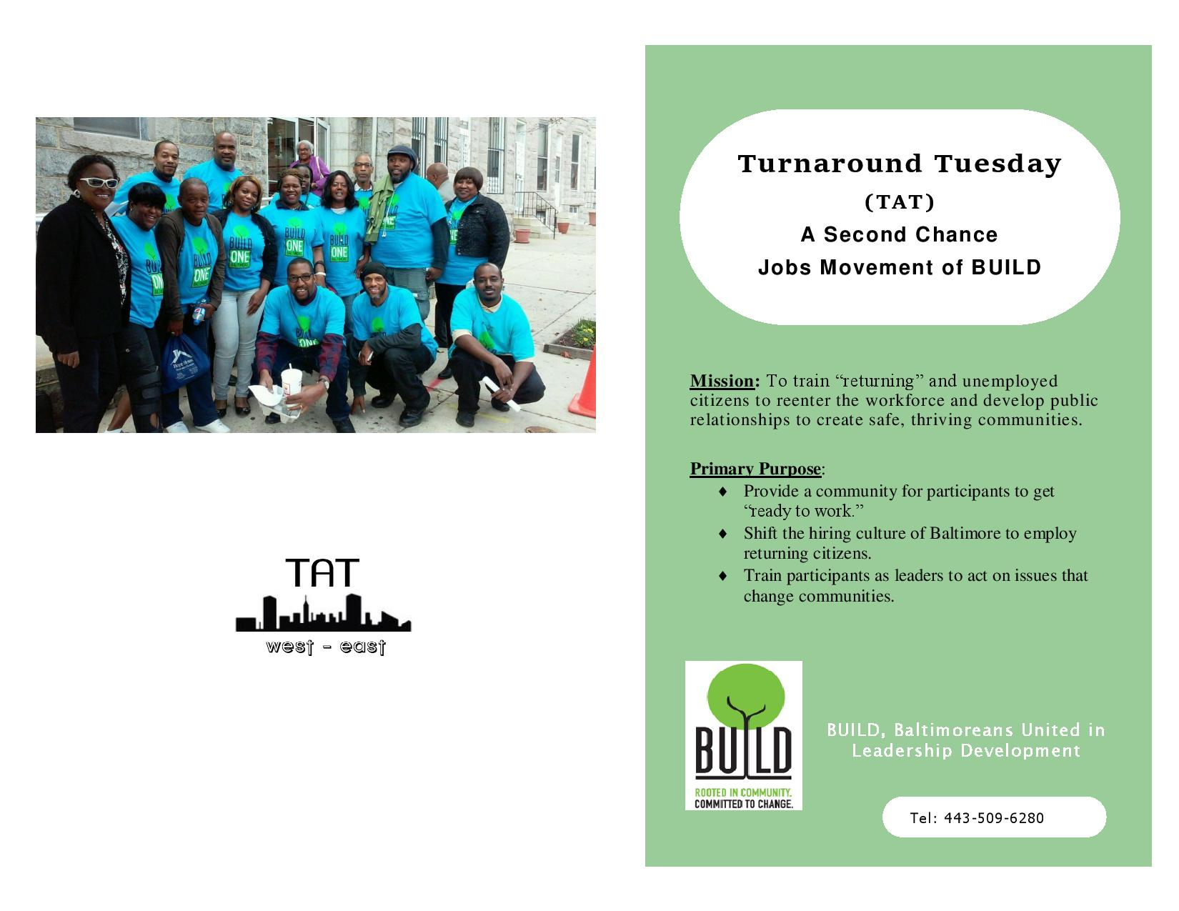 jobs and employment build baltimore build baltimore tat online flyer 10 24 page 001